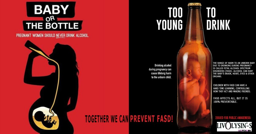 Silymarin Liver protection awareness poster drinking habits during pregnancy