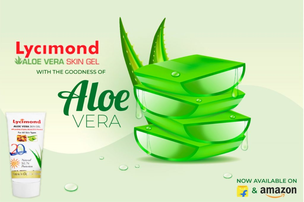 Lycimond Aloe Vera Skin Gel - Flipkart Advertisement
