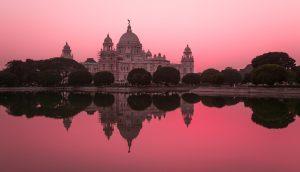 Victoria Memorial Hall picture taken in the evening Kolkata