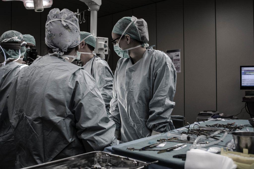 Doctors Surgeons during surgery